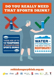 Do you really need that sports drink?